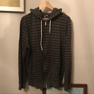 On the Byas (PacSun) Striped Hoodie